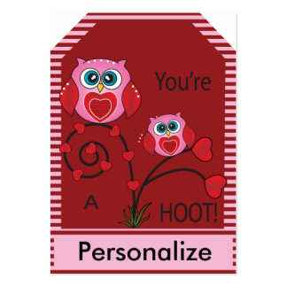 You're a Hoot Owl Gift Tags Large Business Card