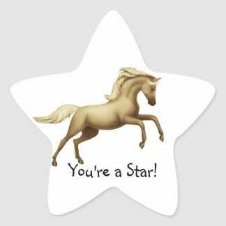 Youre a Star Horse Sticker