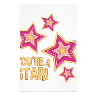 Youre A Star Personalized Stationery