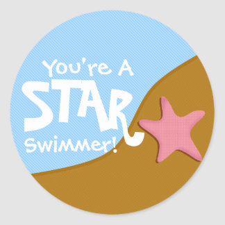 You're A Star Swimmer! Sticker