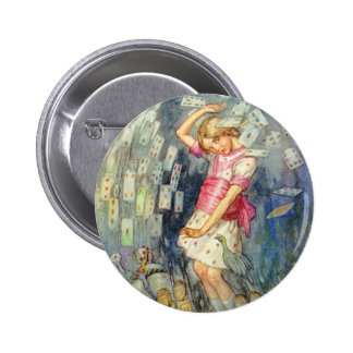 YOU'RE ALL JUST A PACK OF CARDS! 2 INCH ROUND BUTTON