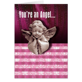 You're An Angel Greeting Card