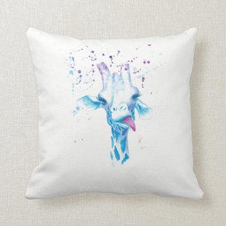 You're 'aving a Giraffe Cotton Pillow