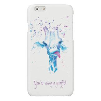 You're 'aving a giraffe iPhone 6/6s Glossy Finish