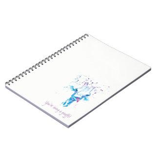 You're 'aving a Giraffe Notepad Notebooks
