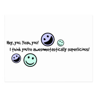 You're Awesome! Postcard