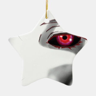 You're Being Watched Ceramic Star Ornament