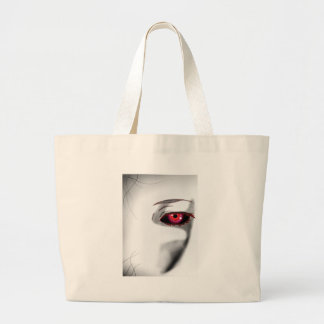 You're Being Watched Large Tote Bag