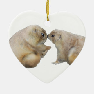 You're blessed groundhogs ceramic ornament