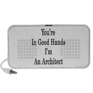 You're In Good Hands I'm An Architect Mp3 Speakers