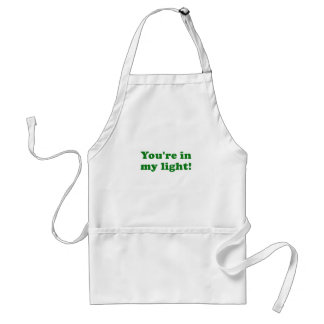 Youre in my Light Standard Apron