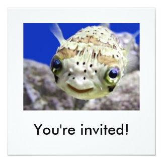 """You're invited! 5.25"""" square invitation card"""
