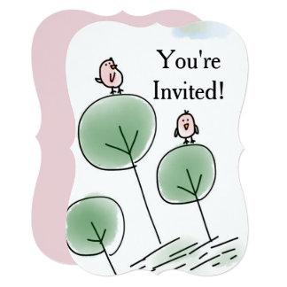 You're Invited Birdie 2 Invitation