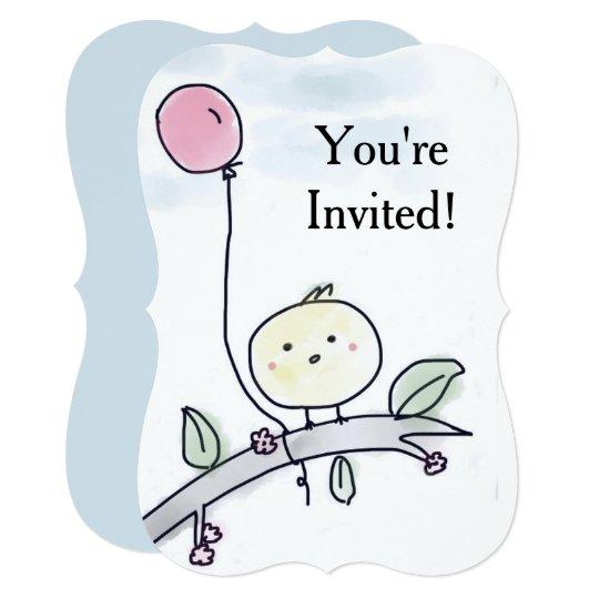 You're Invited Birdie Invitation