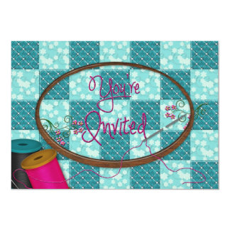 YOU'RE INVITED - INVITATION - SEWING/QUILTING ETC.