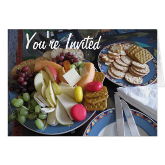 You're Invited Lunch Card