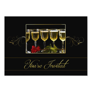 You're Invited - Party Invitation -Wine Glasses