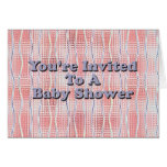 You're Invited to a Baby Shower Greeting Cards