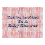 You're Invited to a Baby Shower Post Cards