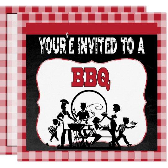 You're Invited to a BBQ   Barbecue Invitation