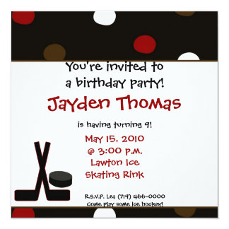 You're invited to a birthday party!, Hai... Card