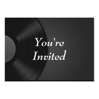 You're Invited - Vinyl Card