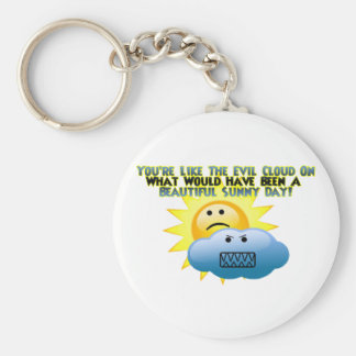 You're Like The Evil Cloud Keychain