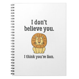 You're Lion Note Book