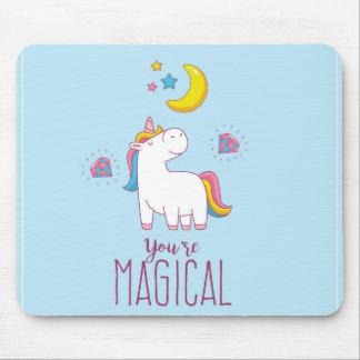 You're Magical Rainbow Unicorn Mousepad