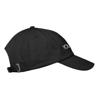 You're Next! Black Hat Embroidered Hats