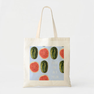 """""""You're one in a Melon"""" Fruit Tote Shopping Bag"""