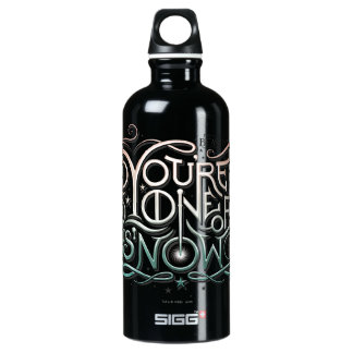 You're One Of Us Now Colorful Graphic Water Bottle