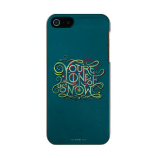 You're One Of Us Now Green Graphic Incipio Feather® Shine iPhone 5 Case