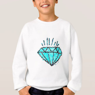 You're Precious  - Turquoise/Pink/Black Sweatshirt