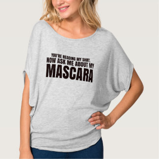 You're reading my shirt - Younique Mascara