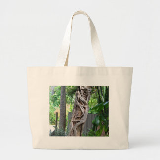 You're So Twisted Large Tote Bag