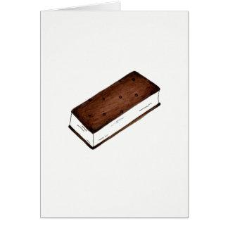 You're Sweet Thanks Chocolate Ice Cream Sandwich Card