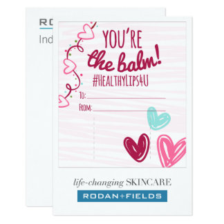 """You're the balm"" Chapstick Card for R + F"