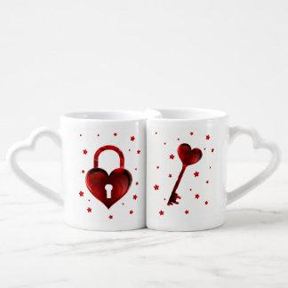 You're The Key To My Heart Coffee Mug Set