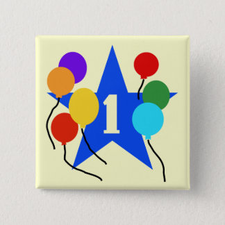 You're the Star 1st Birthday Tshirts and Gifts 2 Inch Square Button