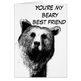 You're unBEARable Card