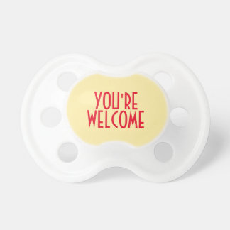 You're Welcome 0-6 months BooginHead® Pacifier