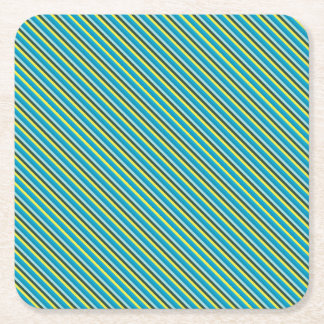 yourt square paper coaster