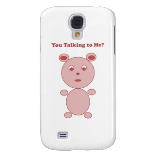 YouTalking to ME Pink Bear Galaxy S4 Cover
