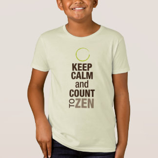 Youth/Child Keep Calm and Zen T-Shirt