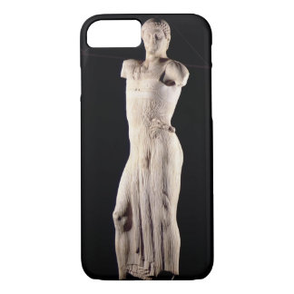 Youth clad in tight long-fitting tunic, 5th centur iPhone 7 case