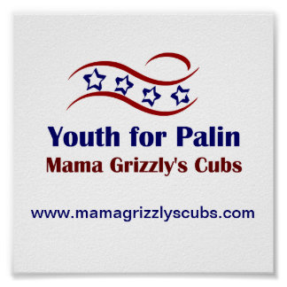 Youth for Palin Products Poster