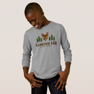 Youth Fox Logo Long Sleeve Shirt