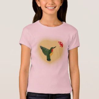 Youth Girls Ruby-Throat Hummingbird Tee