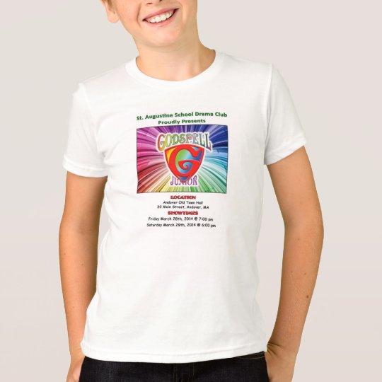 """Youth """"Godspell Jr."""" Souvenir T-Shirt"""